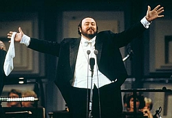 Gifted tenor Luciano Pavarotti is a perfect example of how anatomy is destiny.