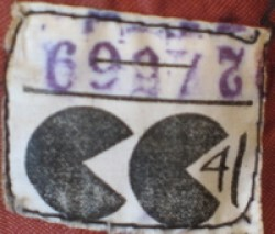 The label that showed a garment was approved utility